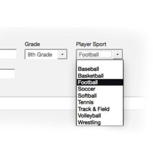 Booster Club Database