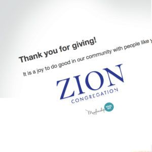 Automated Thank you