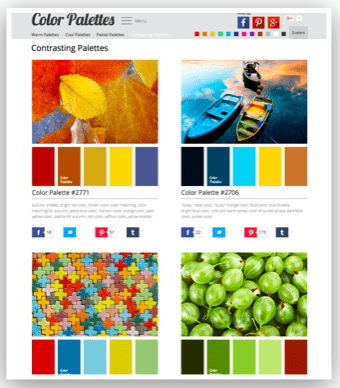 Use color picking software for your PTA website.