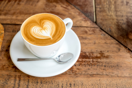 """Volunteer Appreciation Puns from Membership Toolkit. Picture of a latte for the pun, """"Thanks a LATTE for all you do!"""""""