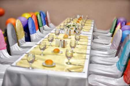 Volunteer Appreciation Celebration Ideas from Membership Toolkit. Image of a table set for a celebration.