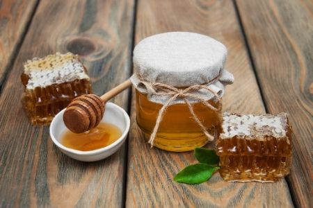 """Thank your teachers with fun puns. Image of honey to go with the pun, """"Thank you for BEEing such a great teacher!"""""""