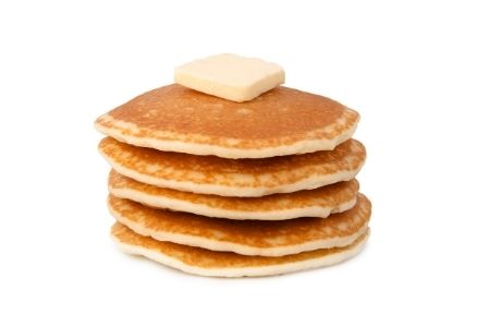 Teacher Appreciation Puns from Memebrship Toolkit. Image of a stack of pancakes for a pancake breakfast.