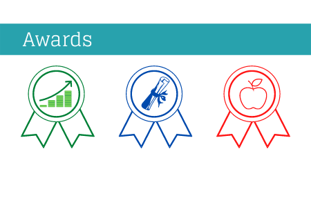 Display awards your PTA has earned on your PTA website